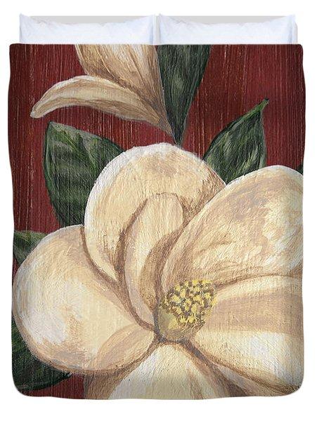 Magnolia II Duvet Cover