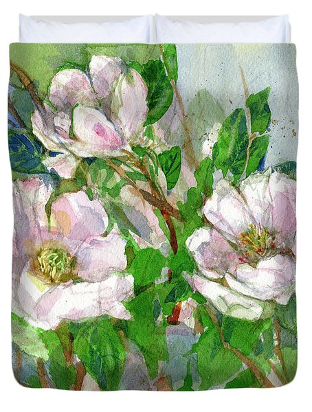 Magnolia Duvet Cover