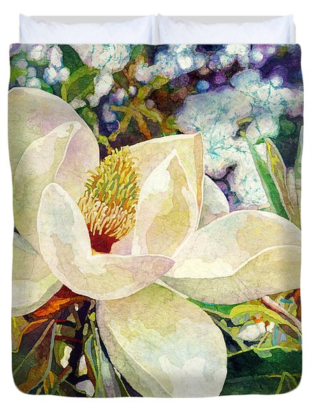 Magnolia Melody Duvet Cover