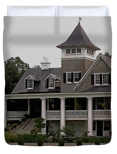 Magnolia Plantation Home Duvet Cover