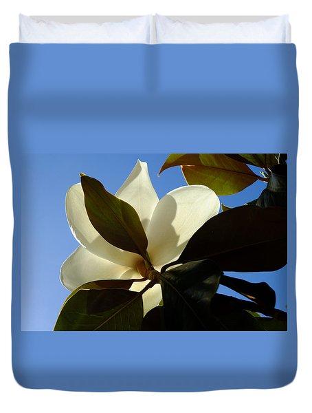 Magnolia Sunbathing Duvet Cover
