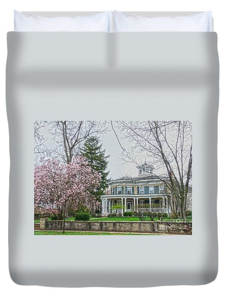 Magnolia Time Duvet Cover by David Bearden