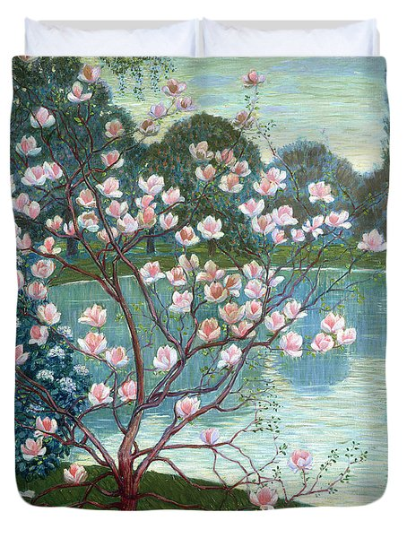Magnolia Duvet Cover by Wilhelm List