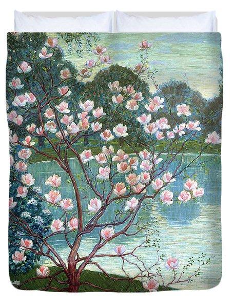 Magnolia Duvet Cover by Wilhelm List