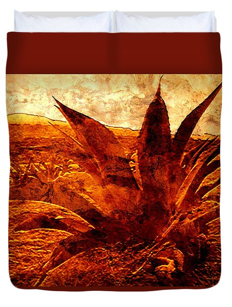 Maguey Agave Duvet Cover