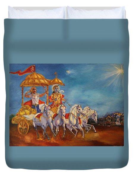Mahabharat Duvet Cover