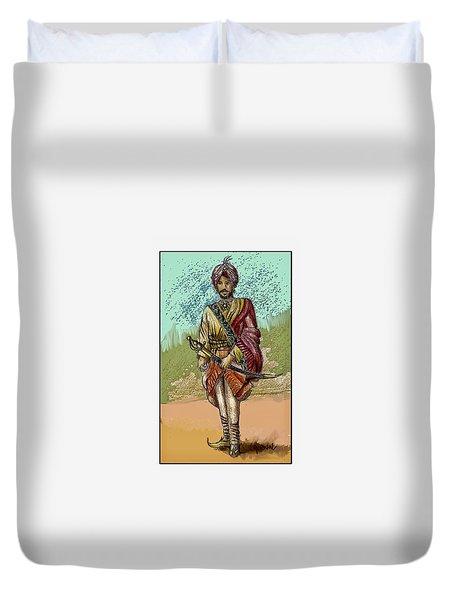 Maharajah Daleep Singh Portrait  Duvet Cover