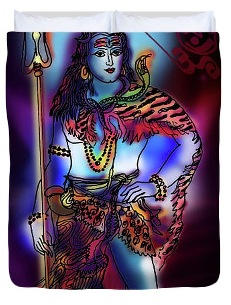 Maheshvara Sadashiva Duvet Cover
