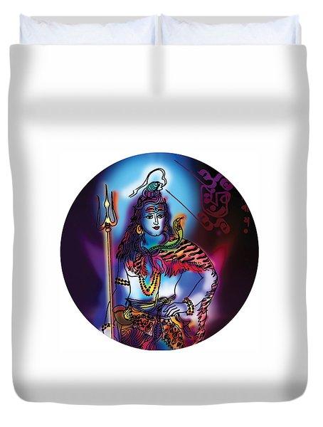 Maheshvara Shiva Duvet Cover