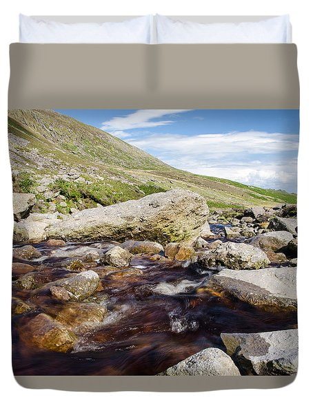 Mahon Falls And River Duvet Cover