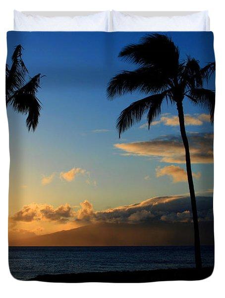 Mai Ka Aina Mai Ke Kai Kaanapali Maui Hawaii Duvet Cover