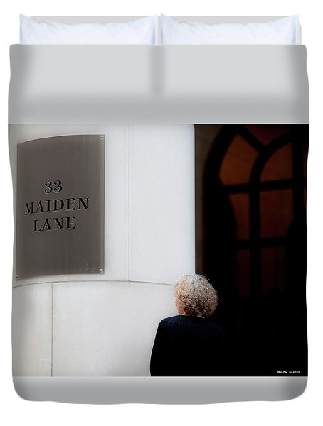 Maiden Duvet Cover