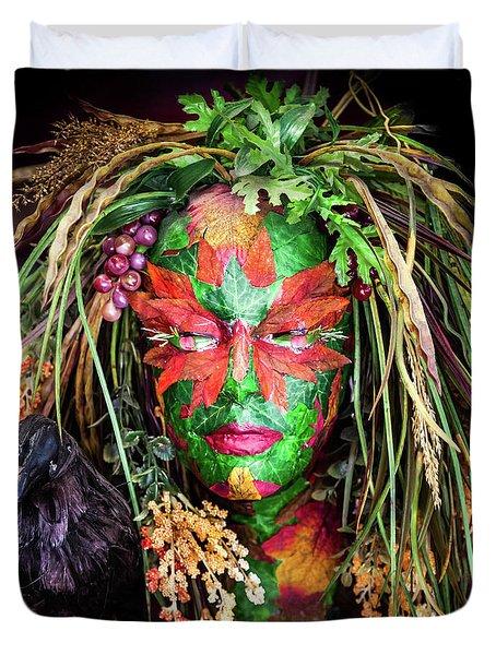 Maiden Of Earth Duvet Cover