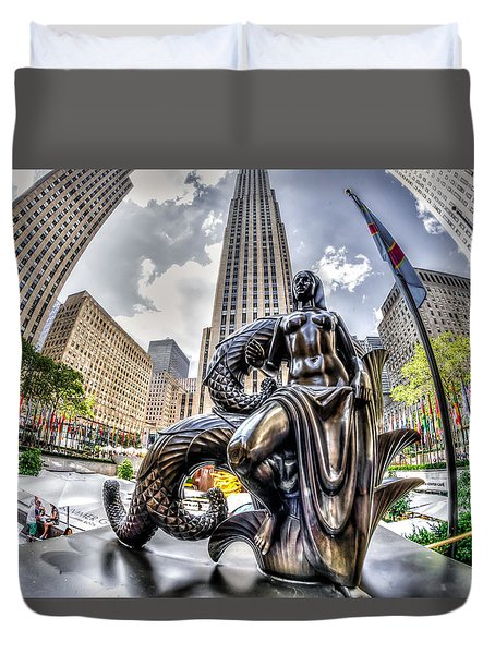 Maiden Duvet Cover