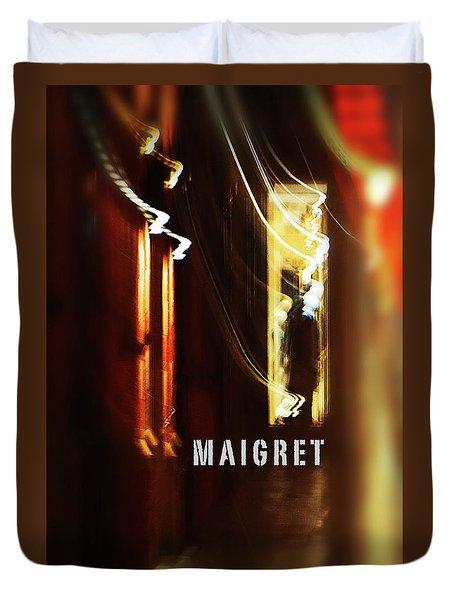 Maigret Duvet Cover by Charles Stuart
