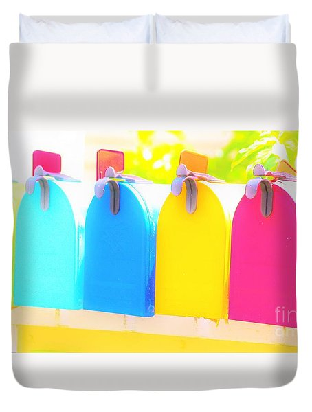 Mail For You Duvet Cover
