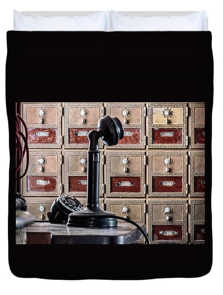 Mailbox 237 Duvet Cover
