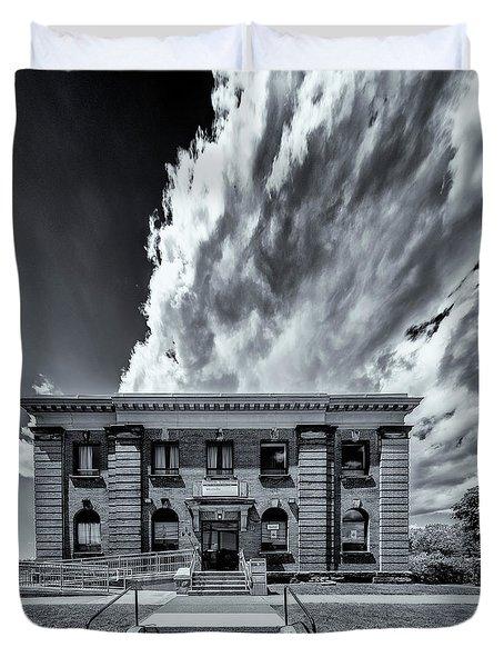 Main Post Office, Westville, Nova Scotia Duvet Cover