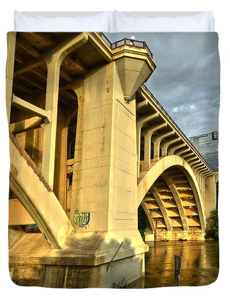 Main St Bridge Duvet Cover