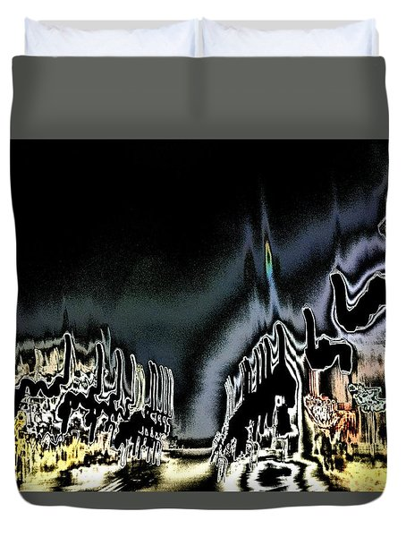 Main Street Duvet Cover