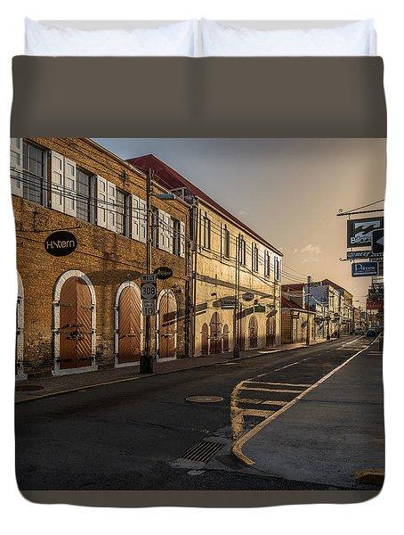 Main Street Sunday Duvet Cover