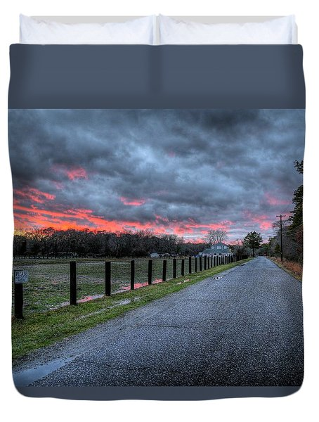 Main Sunset Duvet Cover