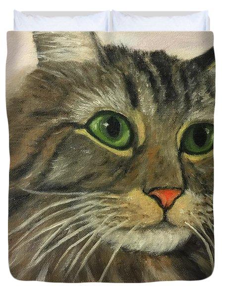 Maine Coon Cat Duvet Cover