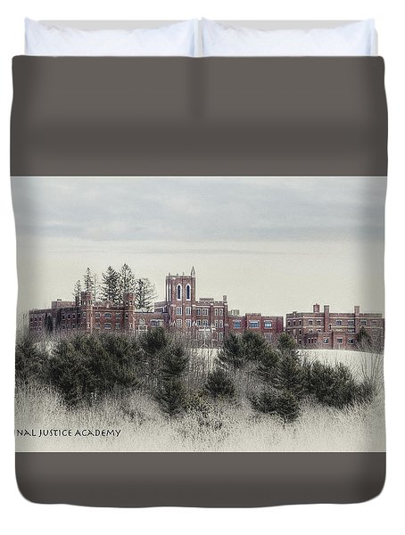 Maine Criminal Justice Academy Duvet Cover