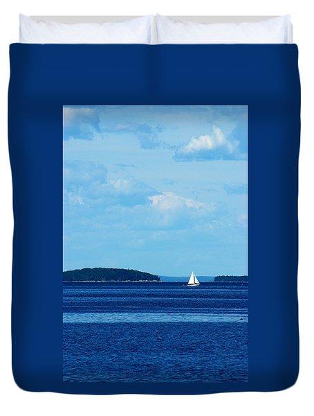 Maine Daze Duvet Cover
