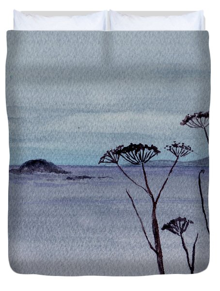 Maine Moody Distance Duvet Cover