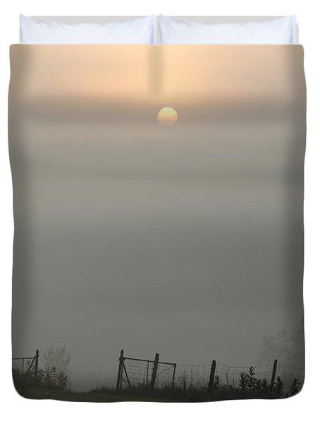 Maine Morning Duvet Cover