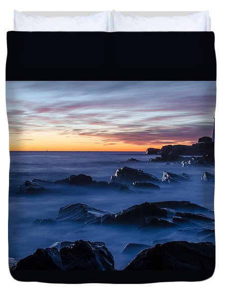 Maine Duvet Cover