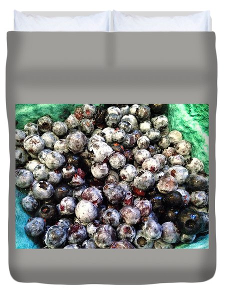 Maine Pearls Duvet Cover