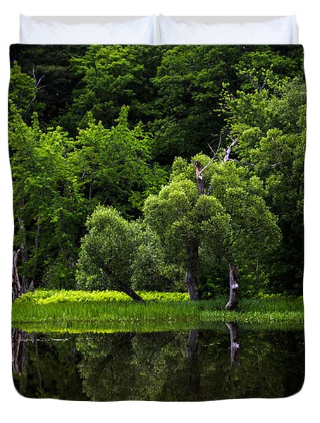 Maine Reflections Duvet Cover