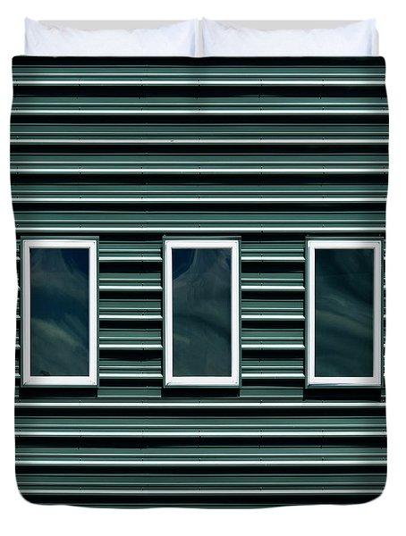 Maine Windows 2 Duvet Cover