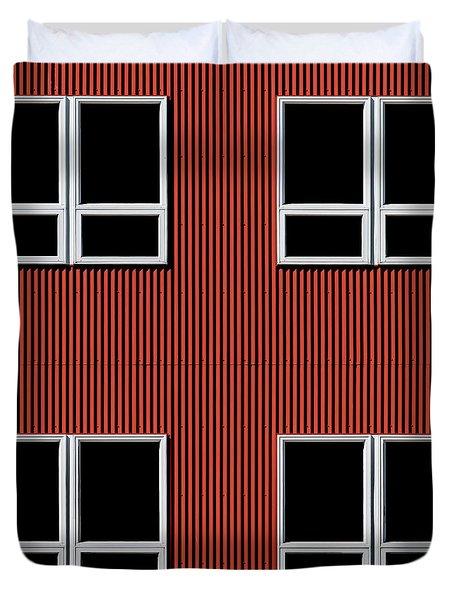 Maine Windows 3 Duvet Cover