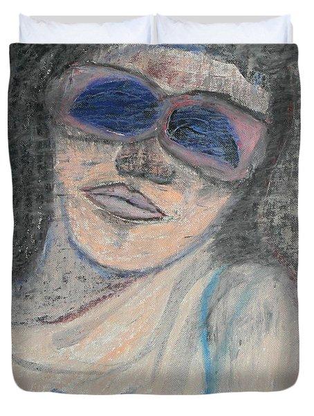 Maine Woman Duvet Cover