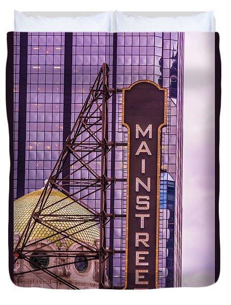 Mainstreet Duvet Cover by Pamela Williams