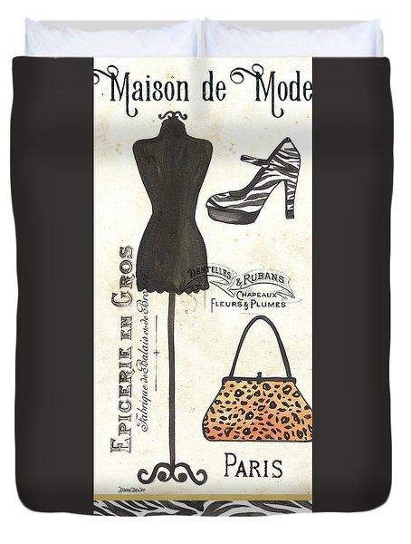 Maison De Mode 1 Duvet Cover by Debbie DeWitt