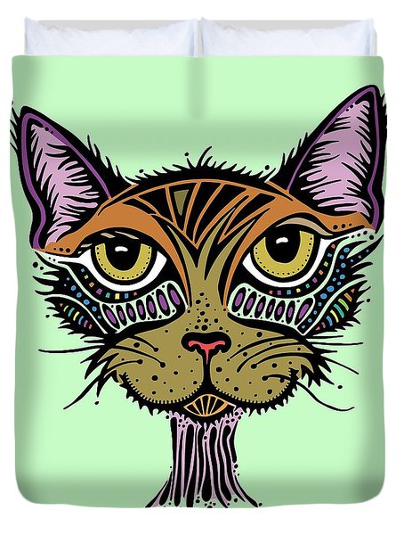 Maisy Duvet Cover by Tanielle Childers