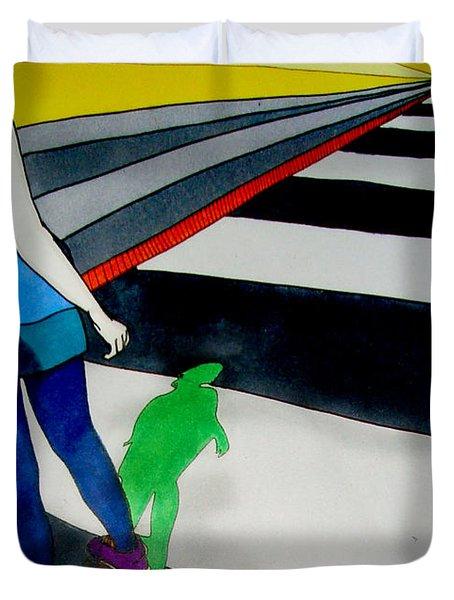 Maja Skate Duvet Cover by Freja Friborg