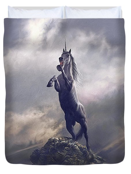 Majestic Dignity  Duvet Cover