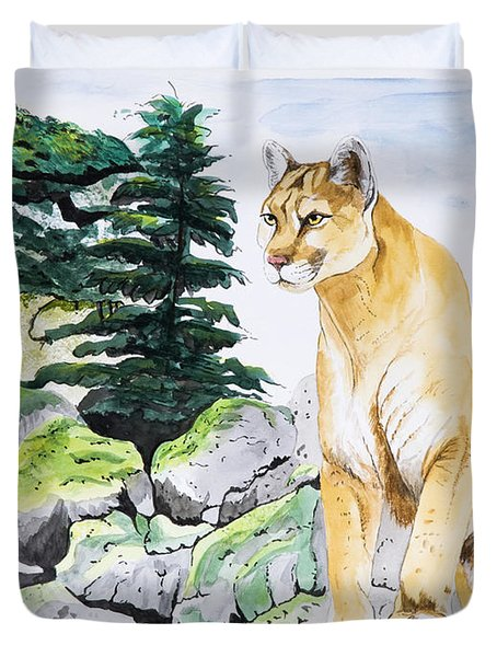 Majestic Domain Duvet Cover