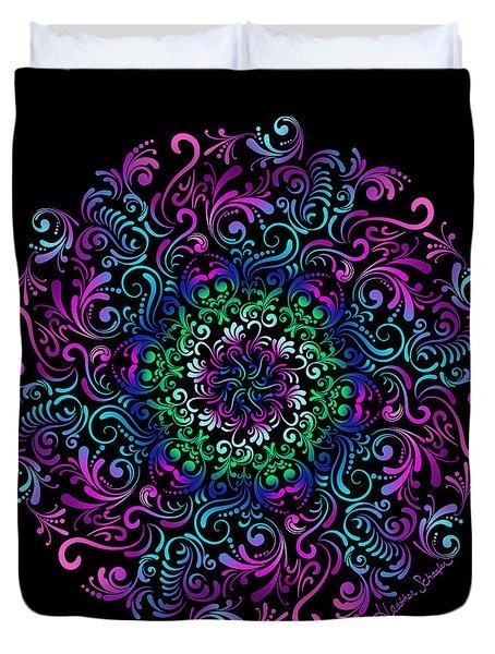 Majestic Kaleidoscope Duvet Cover
