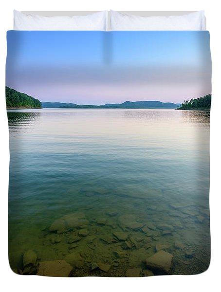 Majestic Lake Duvet Cover