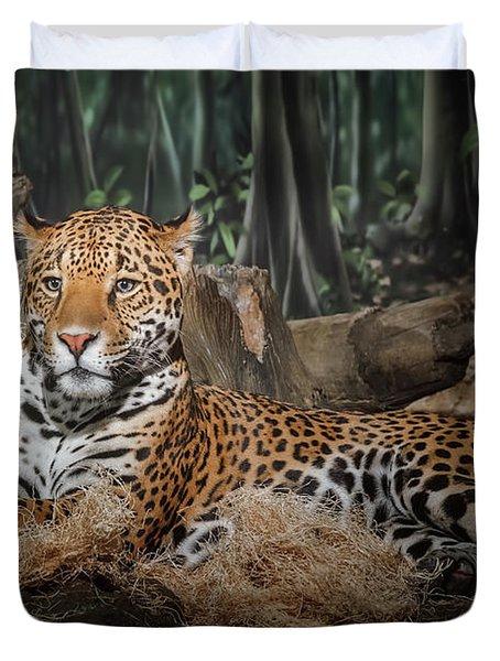 Majestic Leopard Duvet Cover