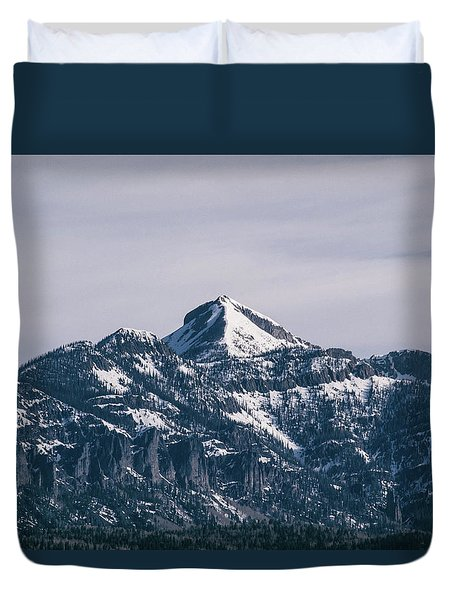 Majestic Morning On Pagosa Peak Duvet Cover