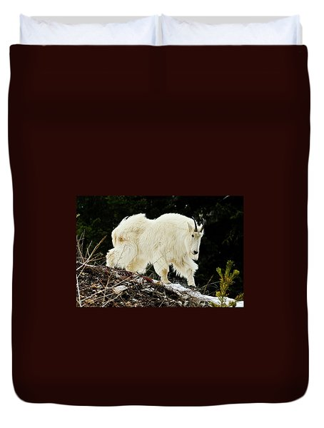 Majestic Mountain Goat Duvet Cover