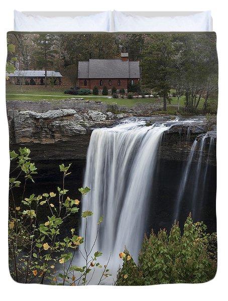 Majestic Noccalula Falls Duvet Cover