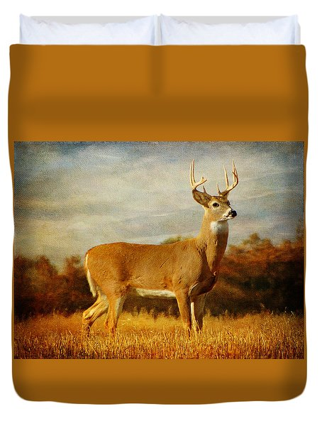 Majestic Pose Duvet Cover